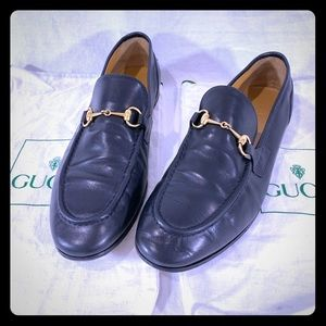 GUCCI Horsebit Authentic Loafers Size 9 US 39 Euro